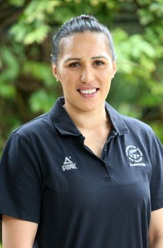 Liana Leota poses for the media during the New Zealand Commonwealth... News Photo 450358750