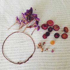 Kids can make dried flower crowns  to wear during meditation as a source of aromatherapy and/or focus for their third eyes :)