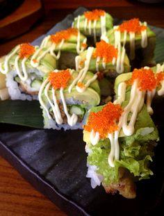 Sushi looks delicious!!