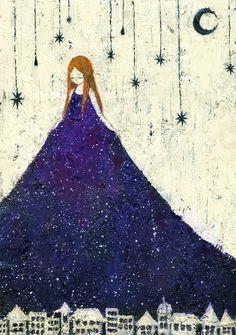 Reine de la nuit inspiration