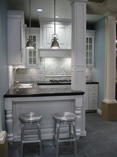 The elegance of a compact home bar, hamptons and provincial,, with a modern twist