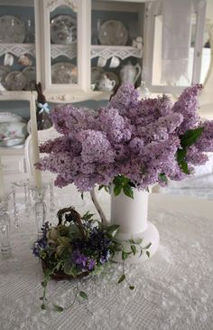 These lilacs are so beautiful.  Need to put these in my garden so I can have them fresh in the house!