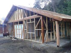 detalle construccion en madera Villa la Angostura patagonia (Meier & Lanz)