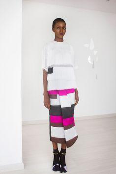 curvesincolor: Amaka Osakwe's Lagos-based line Maki Oh.