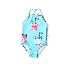 Minti Cute Cups Minti Swimsuit Blue