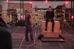 Ryan Reynolds on set Deadpool test footage (2014) #ryanreynolds #deadpool #behindthescenes #follow #followme