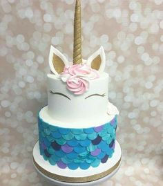 13th Birthday Cake Unicorn Cakes Party Parties
