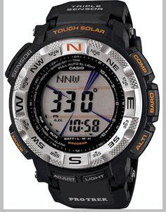 Casio Protrek Solar Power Compass Watch PRG260-1 Countdown Timer 3583d6abeb