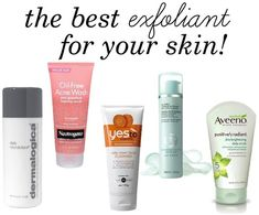How to Find the Best Exfoliant Cleanser for Your Skin