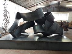 Bold sculpture with round curves in thick wide metal made in my studio today . Character Shoes, Curves, Dance Shoes, Sculpture, Studio, Metal, Heels, Artist, House