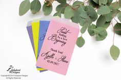Wedding Favor Sweets Packet
