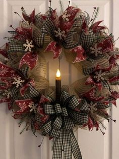 Unordinary Rustic Christmas Decorations And Wreaths Ideas. Rustic christmas style looks very sweet and cozy it s inviting and exactly what you need to relax after a  Christmas Wreaths To Make, Noel Christmas, Holiday Wreaths, Rustic Christmas, Christmas Crafts, Winter Wreaths, Elegant Christmas, Holiday Ideas, Christmas Ideas