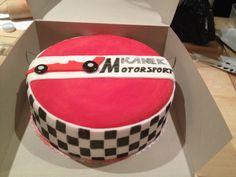 Motor sport cake