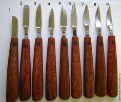Купить Нож кованый для резьбы по дереву - кованые стамески, стамески для резьбы, стамески, Резец