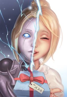 A Daddy's Little Girl by Eliskalti on DeviantArt || I hate going against Orianna. I'm effin terrified of the way she looks. D: