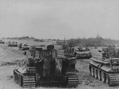 German 505. Schwere Panzer Abteilung. Panzer VI Tiger I Schwere Panzer und StuG (Sturm Geschutz) III Ausfürung G
