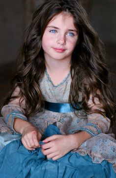 Beautiful Blue Eyed Girl ♥