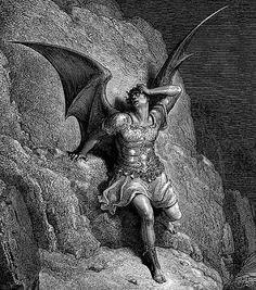 Gustave Doré Satan (paradis perdu)