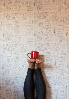 #inversion #coffee #yoga