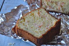 cake à la farine de maïs et au saumon