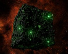"""Borg cubes were massive in size, measuring over three kilometers across and possessing an internal volume of 28 cubic kilometers. (VOY: """"Dark Frontier"""") In 2366, Commander Shelby estimated that a cube could remain functional even if 78% were rendered inoperable. (TNG: """"The Best of Both Worlds"""")"""