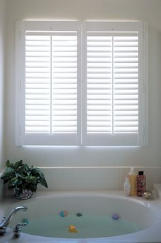 1000+ images about Bathroom Inspiration: Plantation Shutters on ...