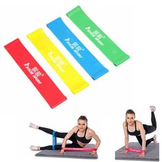 Sports & Entertainment Yoga Creative Hot Sale 1.2m Elastic Yoga Pilates Rubber Stretch Exercise Band Arm Leg Back Fitness High Quality 100% High Quality Materials