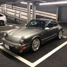 Porsche 964, Porsche Carrera, Work Images, Dream Cars, Around The Worlds, Park, Vehicles, Instagram Posts, Grey
