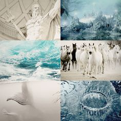 greek mythology → poseidon / Ποσειδῶν  2/2   He ended up becoming lord of the sea and was widely worshipped by seamen. His weapon was a trident, with which he could make the earth shake, causing earthquakes, and shatter any object.