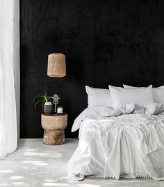 on trend: white bed linens