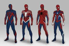 i did for a previous client. Marvel Comics, Hq Marvel, Marvel Heroes, Spiderman Suits, Spiderman Art, Amazing Spiderman, Comic Book Characters, Marvel Characters, Comic Character