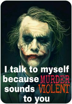33 Joker Quotes to Fill You With Craziness Heath Ledger Joker Quotes, Best Joker Quotes, Badass Quotes, Joker Images, Joker Pics, Words Quotes, Life Quotes, Attitude Quotes, Sayings