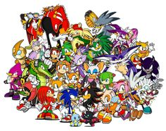 Sonic characters.