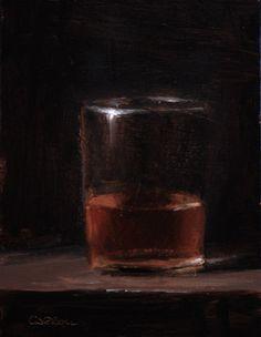 Glass of Whiskey - eBay study - sold | Neil Carroll - Blog