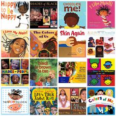 A list of children's books about race and skin color