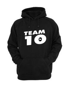 Jake Paul Mens Hoody JPX Logang Team 10 Youtuber Ladies Pullover Gift Hoodie