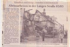 aus einer alten Zeitung