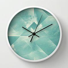 sky for walk Wall Clock by Danny Ivan - $30.00