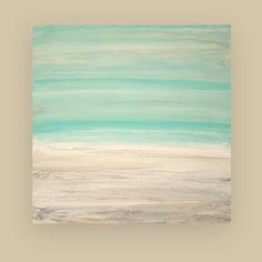 Painting Acrylic Abstract Art on Canvas Beach by OraBirenbaumArt, $315.00