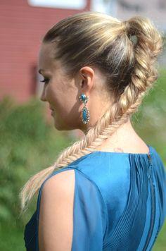 Blake Lively inspired fishtail braid