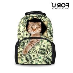 28.00$  Watch now - https://alitems.com/g/1e8d114494b01f4c715516525dc3e8/?i=5&ulp=https%3A%2F%2Fwww.aliexpress.com%2Fitem%2FNew-Style-Large-Capacity-3D-Animal-Cat-Printing-School-Bags-for-Kids-Boys-Schoolbag-Children-Book%2F32709391486.html - FORUDESIGNS New Style Large Capacity 3D Animal Cat Printing School Bags for Kids Boys Schoolbag Children Book Bag Mochila 28.00$