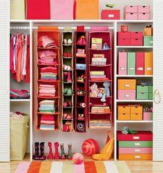 Awesome kids closet