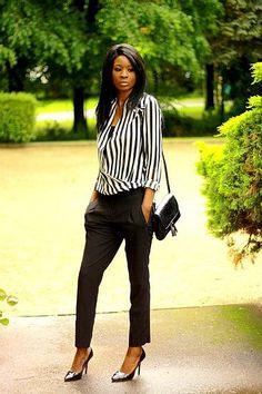 Chic and sleek.