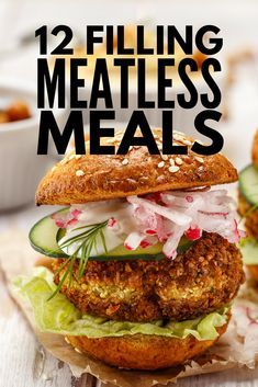 Looking for easy plant based recipes that will actually make you feel full? Whether you're looking for breakfast, lunch, or dinner ideas, meatless meals have never tasted better with these plant based proteins. Perfect for beginners, these whole food recipes are great for diabetics, vegans…and even for kids! Eating healthy has never tasted so good. #plantbased #plantbasedcooking #plantbasedfood #meatless #meatlessrecipes