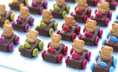 The Bride's Diary - Pregnancy & Parenting: Tiny Teddy Cars Recipe