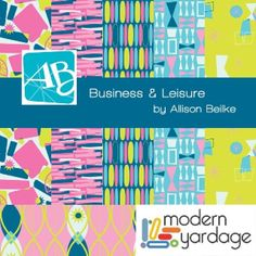 Business & Leisure by @Allison Beilke Now available at @Modern Yardage