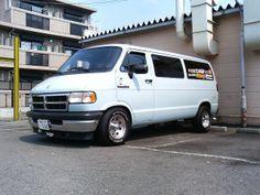 Dajiban - Japanese style custom Dodge Dodge Van, Dakota Truck, Ram Power Wagon, Dodge 2500, 4x4 Van, Van Home, Vanz, Rims For Cars, Cool Vans
