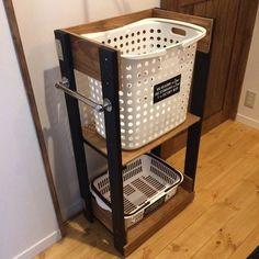 [DIY]洗面所にランドリーワゴンをつくる。|LIMIA (リミア)