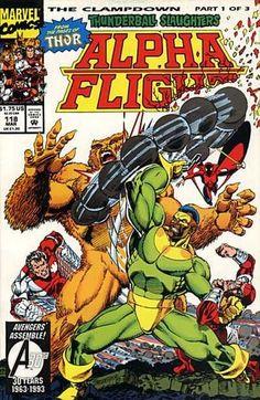 Alpha Flight #118 - The Clampdown, Part 1