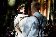 Boho-Hochzeit auf dem Konzertplatz in Dresden